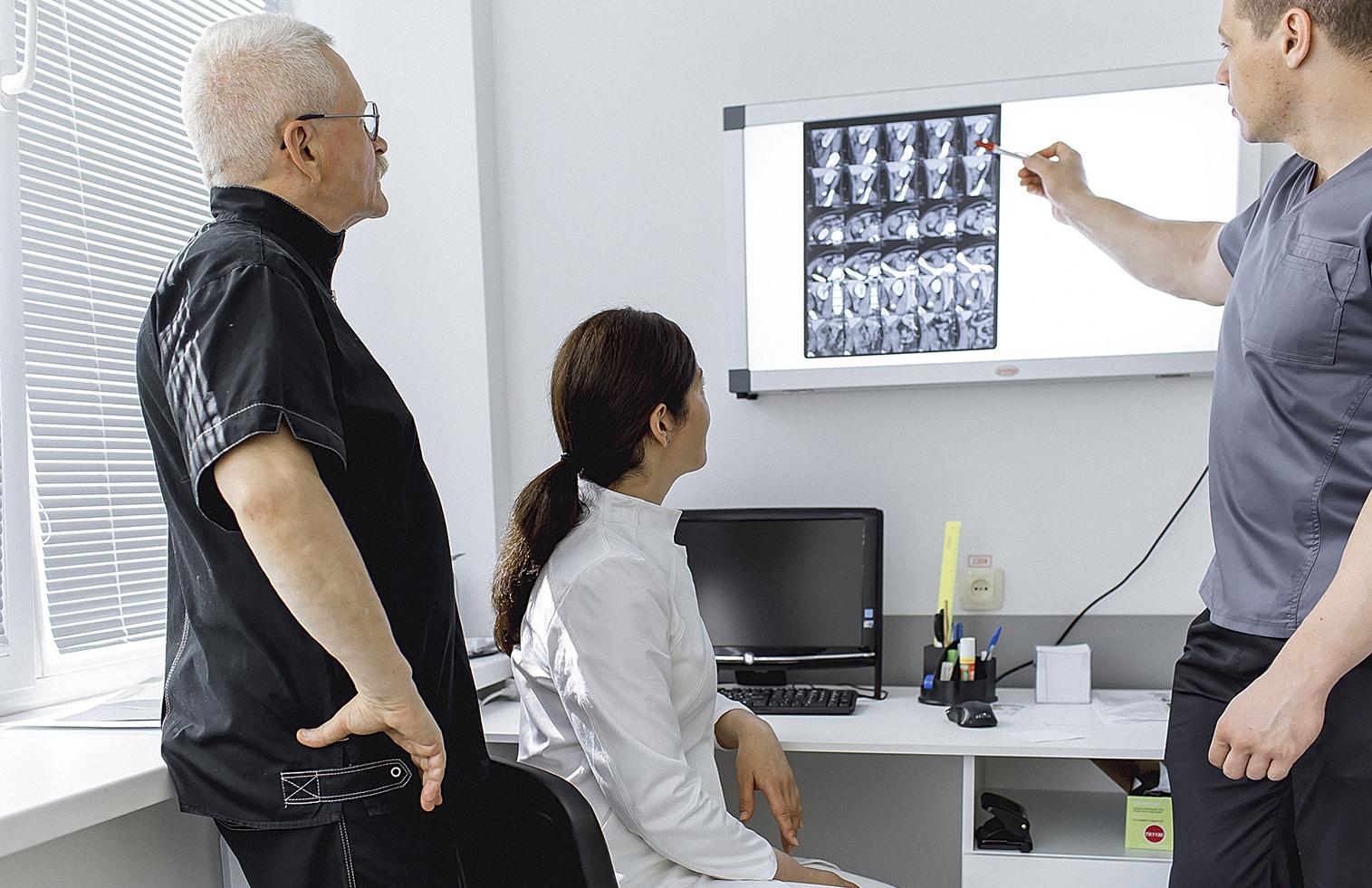 Ординаторская центра травматологии и ортопедии